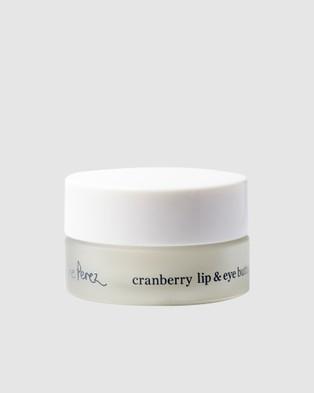 Ere Perez Cranberry Lip & Eye Butter Care n/a