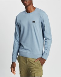C.P. Company - Crew Neck Pocket Sweatshirt