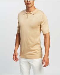 Justin Cassin - Buckley Knit Polo