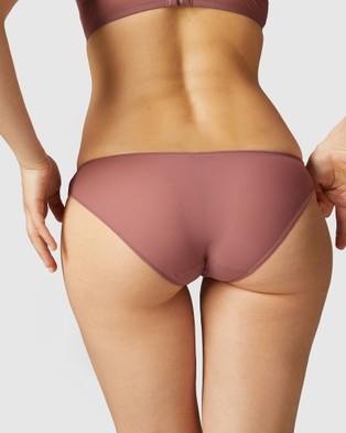 Simone Perele - Neon Bikini Brief - Hipster Briefs (Shaded Pink) Neon Bikini Brief
