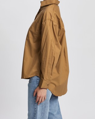 Ceres Life The Daily Shirt - Tops (Ginger)