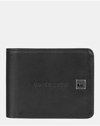 Quiksilver - Mens Mack VII Leather Wallet