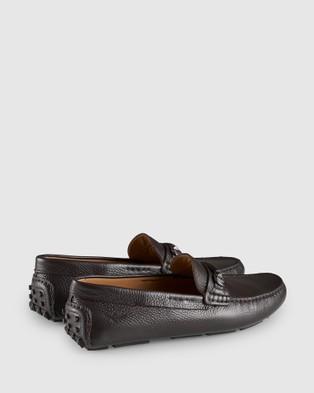 Aquila Maranello Driving Shoes - Dress Shoes (Brown)