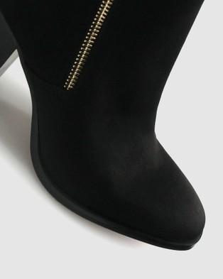 Betts Layla Block Heeled Boots - Heels (Black)