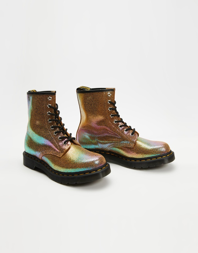 Women 1460 8-Eye Rainbow Boots - Women's