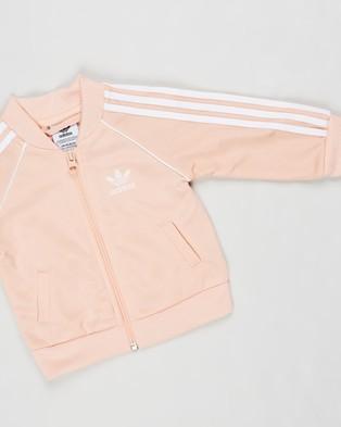 adidas Originals Adicolor SST Tracksuit   Babies Kids - Sweatpants (Glow Pink & White)