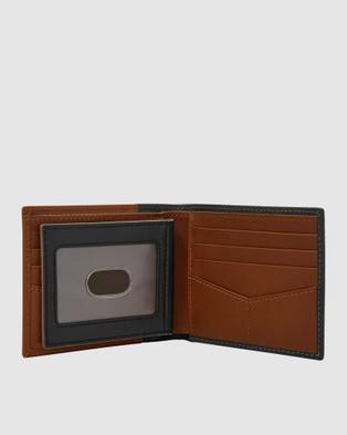Fossil Ward Two Tone Card Case - Wallets (Two Tone)