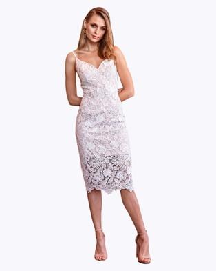 Rodeo Show – Saskia Lace Dress Ivory