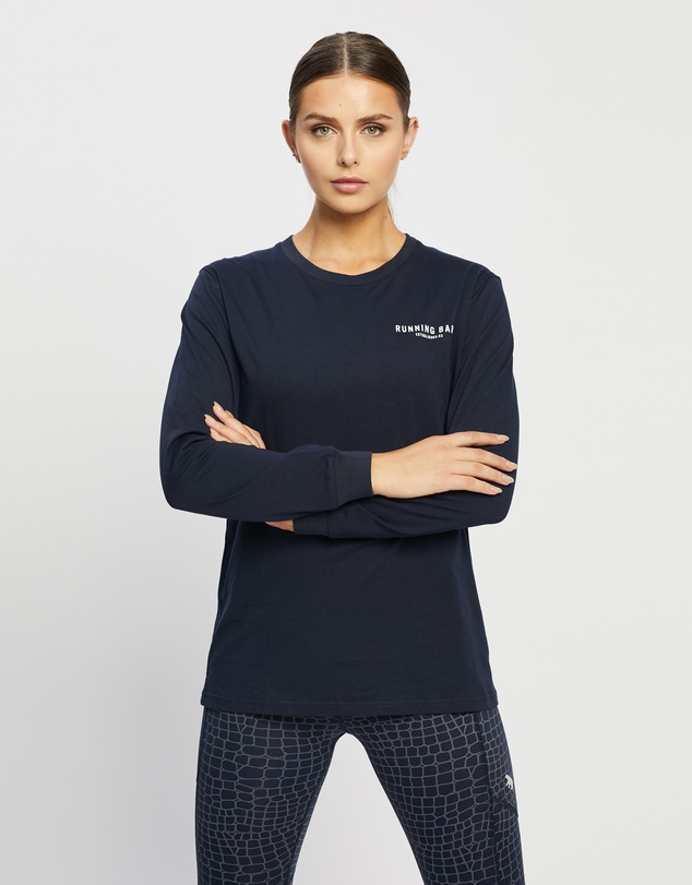 Running Bare - Hollywood 90's Relax Long Sleeve Tee