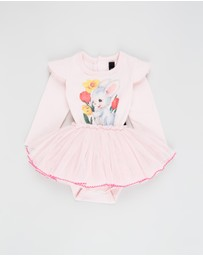 Rock Your Baby - ICONIC EXCLUSIVE - Bunny LS Baby Circus Dress - Babies
