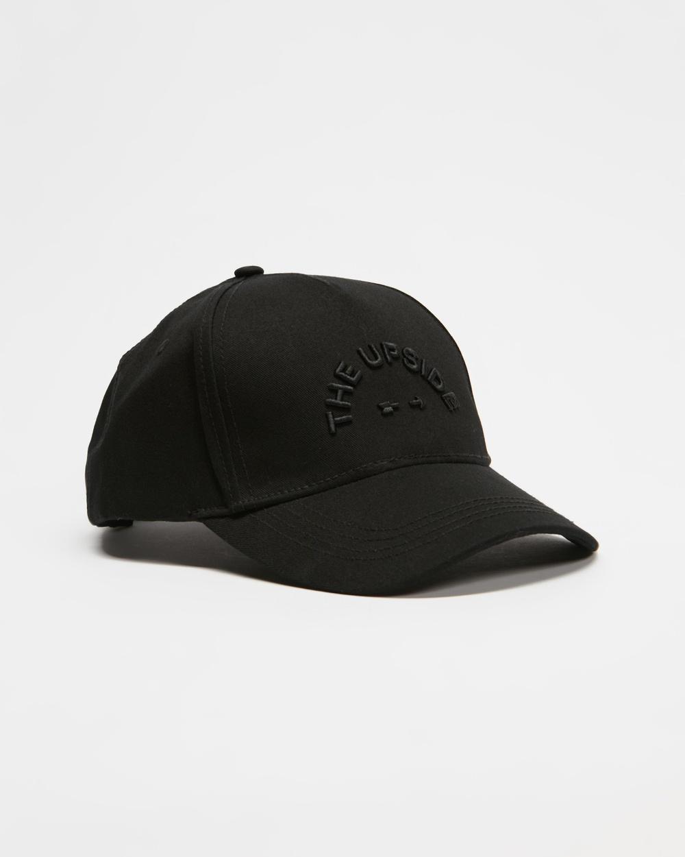 The Upside Logo Cap Headwear Black Caps Australia