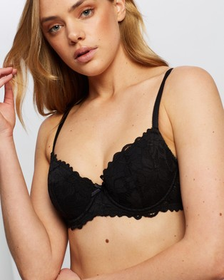 Bendon Full Coverage Contour Bra - Underwire Bras (Black)