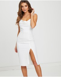 Sallie Cowl Neck Dress