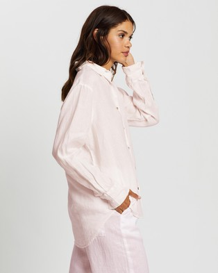 Assembly Label Xander Long Sleeve Shirt - Tops (Pink Dew)