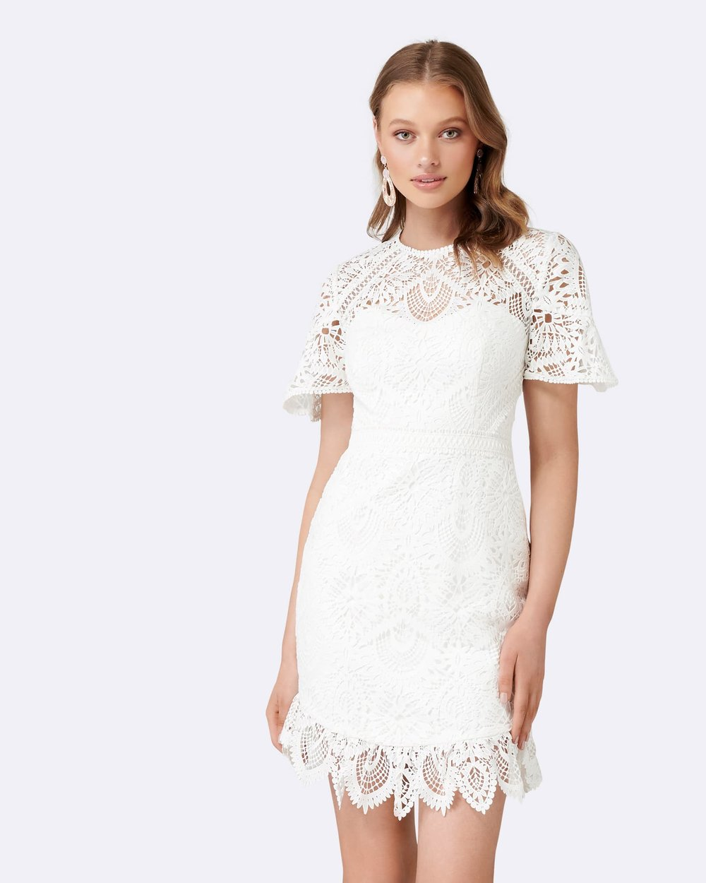 73467dced6c Austin Fit and Flare Lace Dress by Forever New Online
