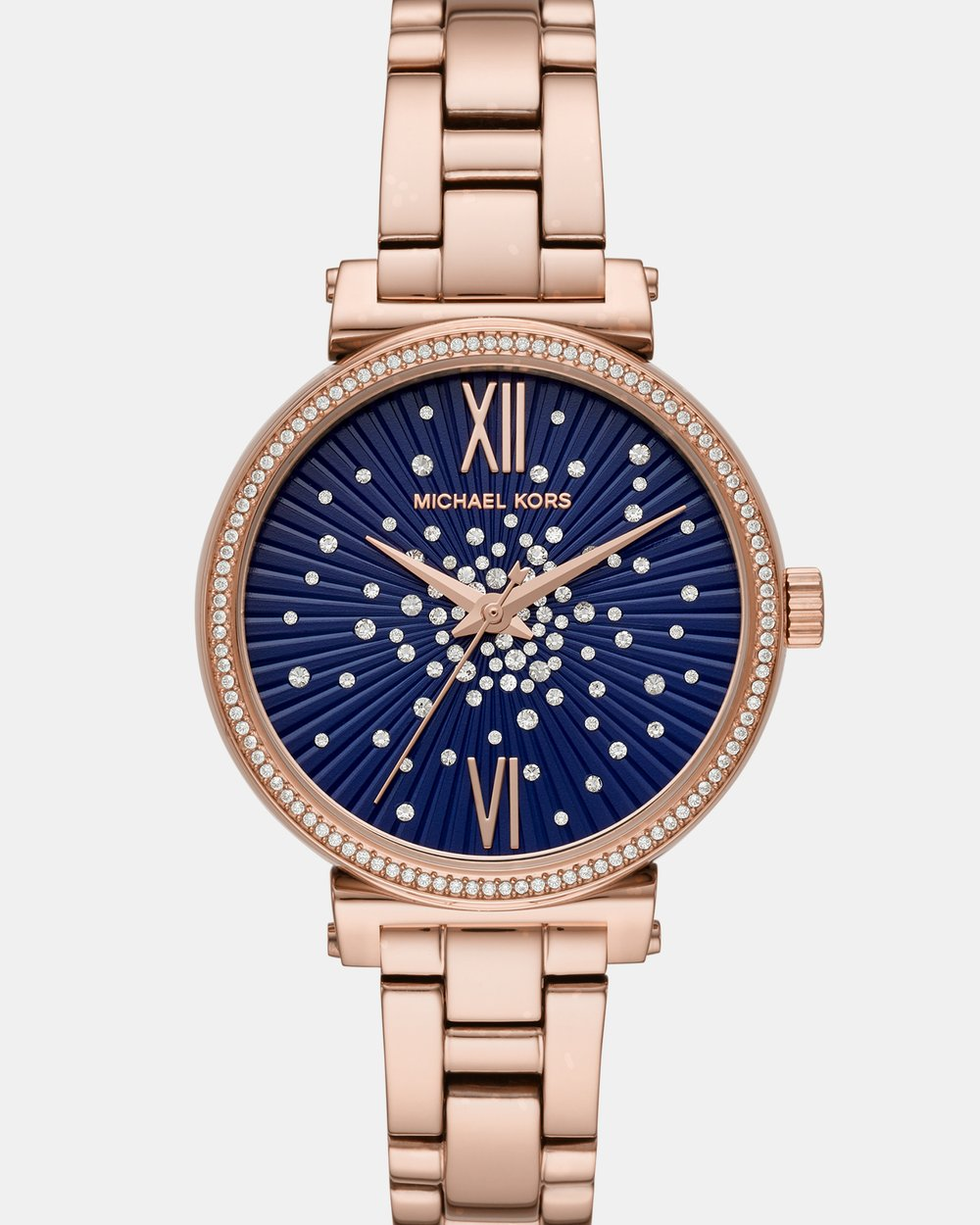 5045c0283038 Sofie Rose Gold-Tone Analogue Watch by Michael Kors Online