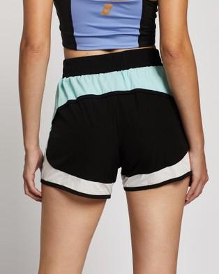 Azura Fit Original Run Shorts Colour Block