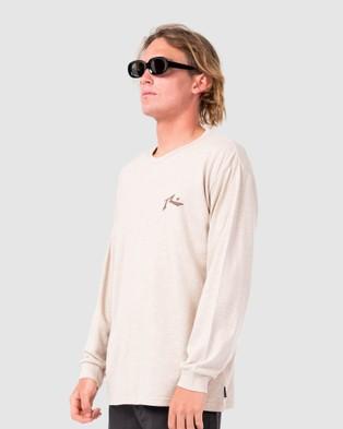 Rusty - One Hit Hemp Long Sleeve Tee - Long Sleeve T-Shirts (BEF) One Hit Hemp Long Sleeve Tee
