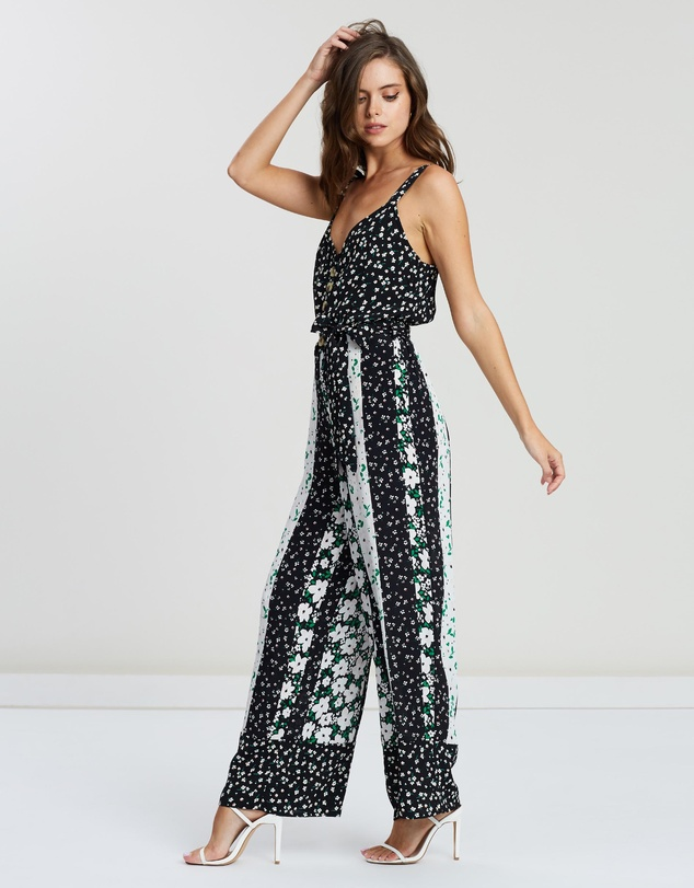 Miss Selfridge Petite - Mix-and-Match Print Jumpsuit