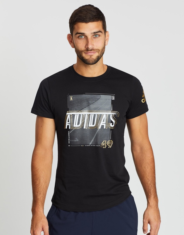 adidas Performance - Sport ID Foil Tee - Men's