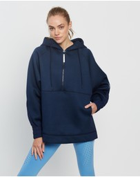 adidas by Stella McCartney - Half-Zip Hooded Sweatshirt