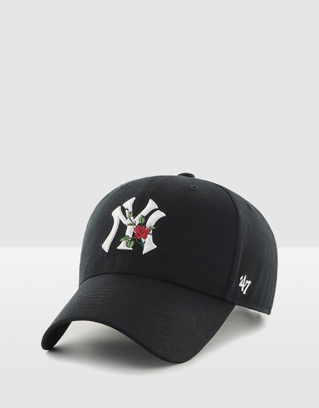 Men Boston Red Sox Black '47 Snapback MVP