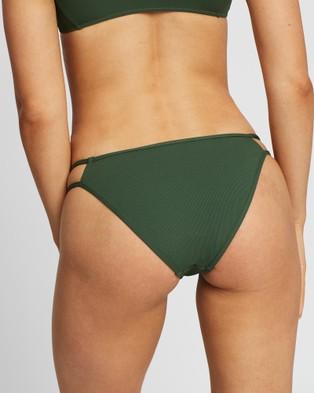 Volcom Simply Rib Hipster Pants - Bikini Set (Green)