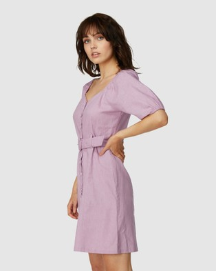 Princess Highway Magnolia Dress - Dresses (Purple)