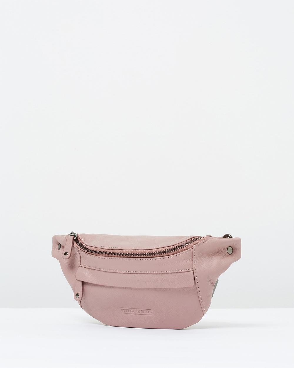 Stitch & Hide Bailey Hip Bag Bum Bags Dusty Rose