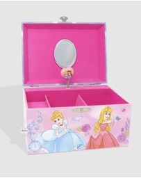 Disney Princess by Pink Poppy - Princess Watercolour Luxury Music Box