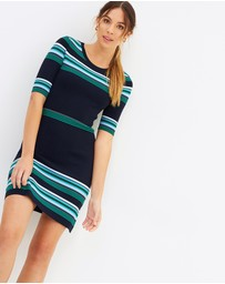 Marcs - Stripe Milano Dress