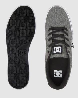 DC Shoes Mens Anvil Shoe - Sneakers (BLACK DARK USED)
