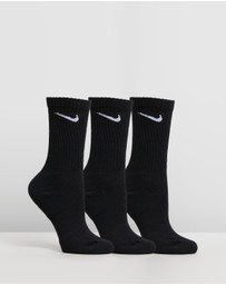 Nike - Everyday Cushion Crew Socks 3-Pack