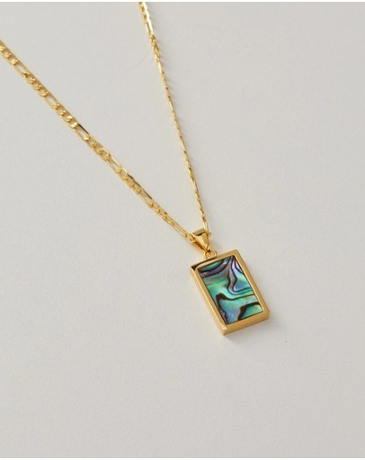 Alix Yang Willow Necklace Gold