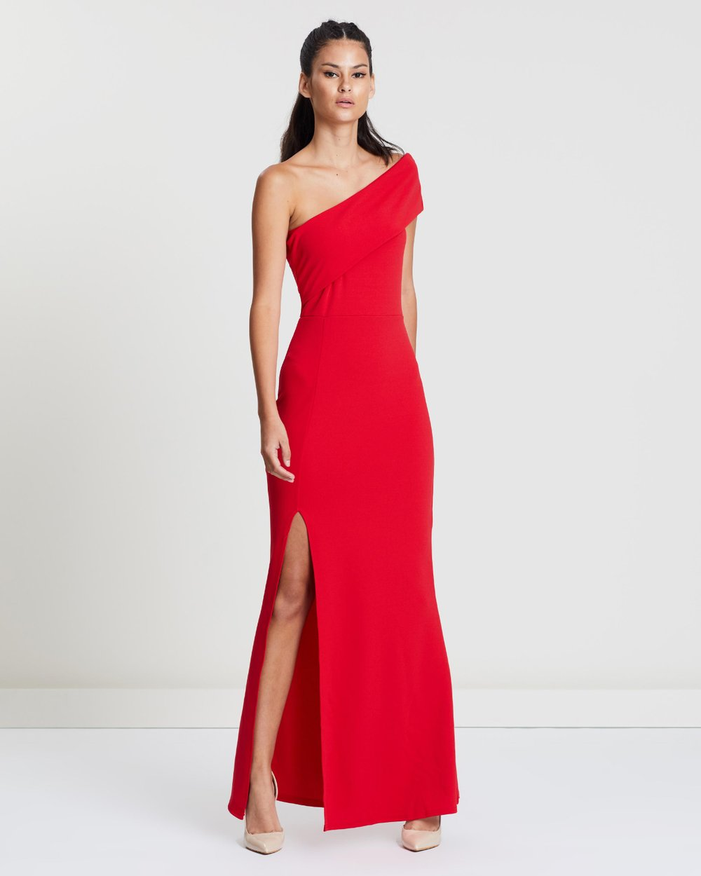 321b1899c7756 One Shoulder Maxi Dress by Missguided Online | THE ICONIC | Australia