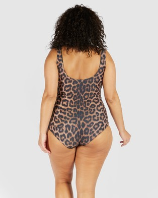 SAINT SOMEBODY One Of My Kind - One-Piece / Swimsuit (Leopard)