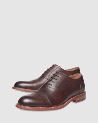 3 Wise Men The Buckingham - Dress Shoes (Dark Brown)
