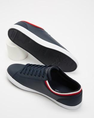 Tommy Hilfiger Essential Leather Vulc Sneakers - Sneakers (Desert Sky)