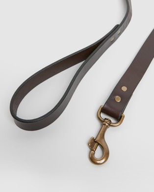 Filson Leather Dog Leash - Pets (Brown)