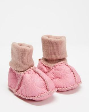 Kip&Co Sheepskin Booties - Socks (Pinkie)