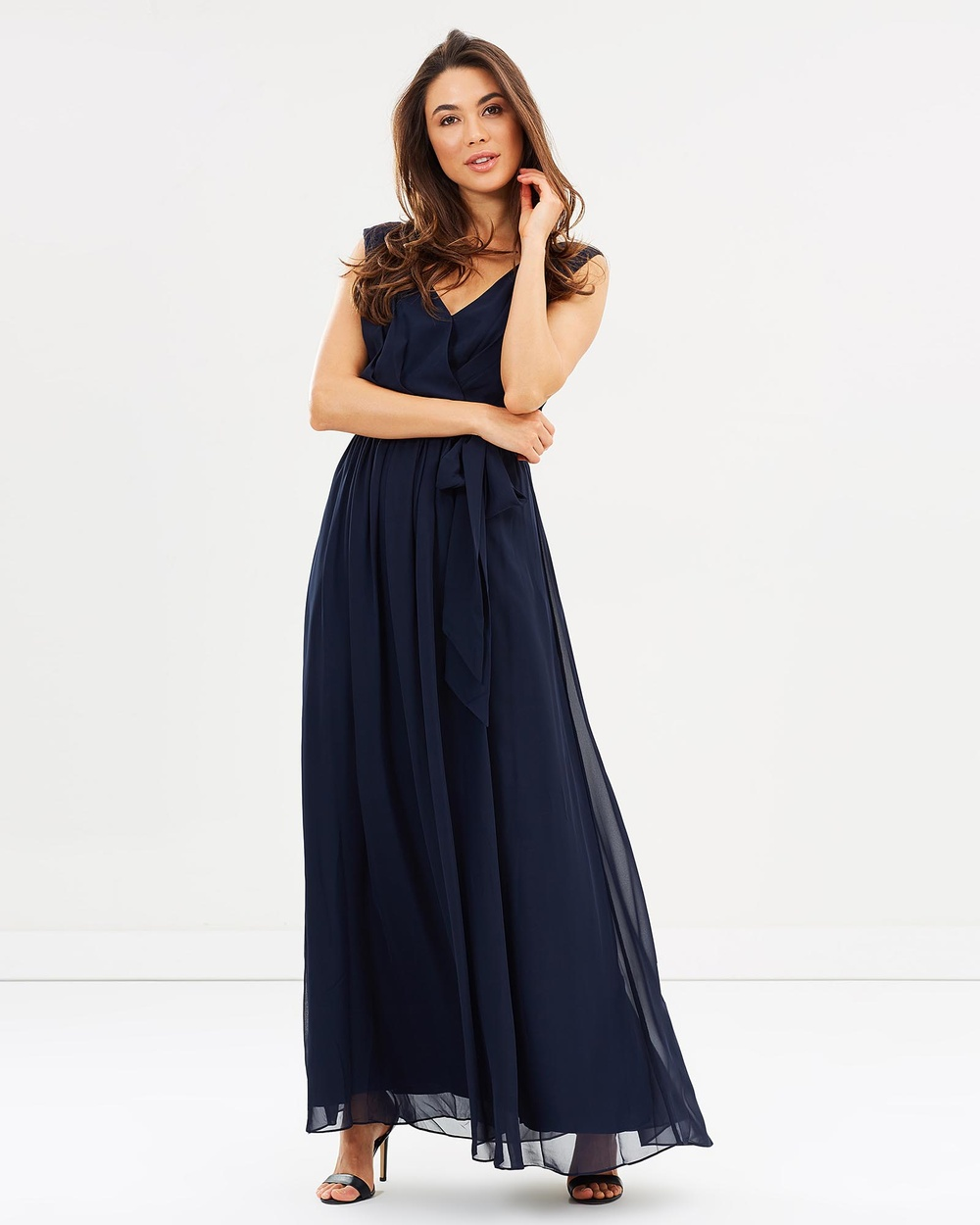 Esther Tulip Maxi Dress Bridesmaid Dresses Navy Tulip Maxi Dress