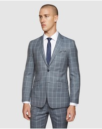 Oxford - New Hopkins Wool Checked Suit Set