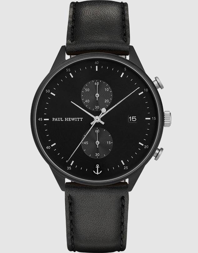 Men Chrono Black Watch