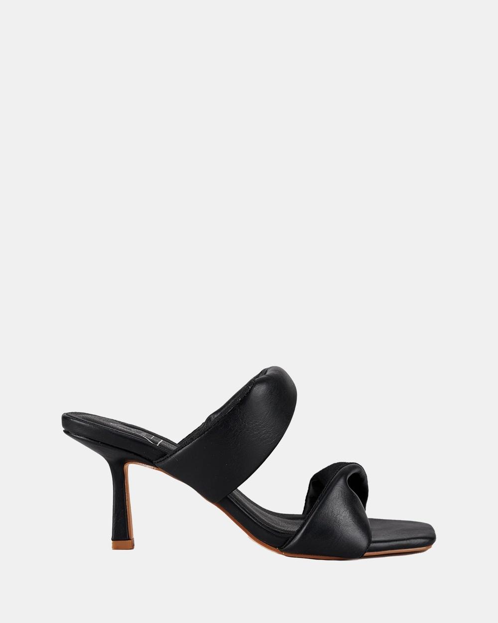 St Sana Rex Mules Sandals Black Australia