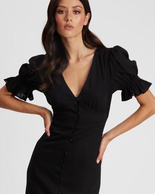 Savel Sorrenti Maxi Dress - Dresses (Black)