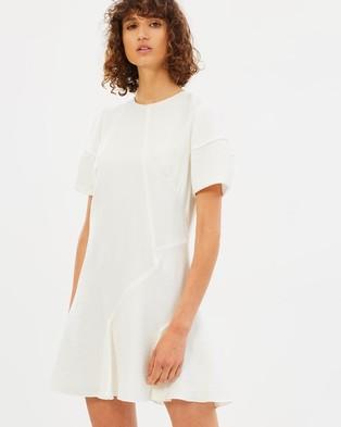 CAMILLA AND MARC – Rein Mini Dress Ivory