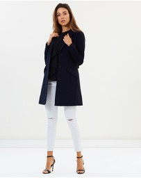 Privilege - York Fitted Sleeve Coat