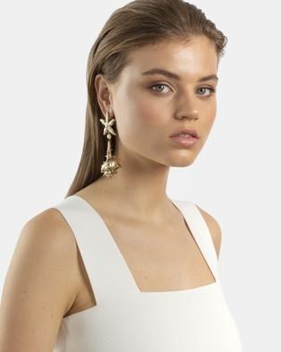 Kitte Positano Earrings - Jewellery (Gold)