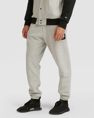 RVCA Everlast Sweat Pants - Pants (HEATHER GREY)