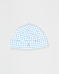 Polo Ralph Lauren - Gingham Interlock Beanie - Babies